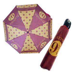 Harry Potter Fan Platform 9 3/4 Auto Rain Umbrella